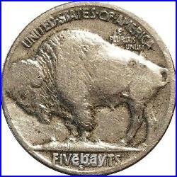 1913-S Type 2 Buffalo Nickel, Very Good VG Details, Cleaned, Dark Obverse Spot