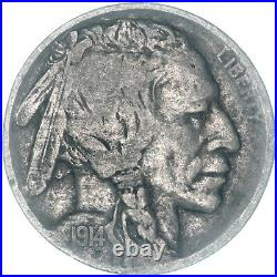 1914 D Buffalo Nickel Very Good VG