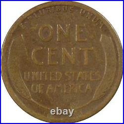 1914 D Lincoln Wheat Cent VG Very Good Bronze Penny 1c US Coin Collectible