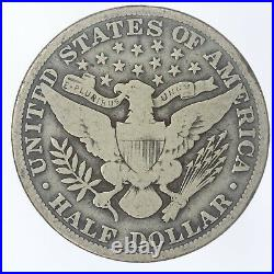 1914-P Barber Half Dollar VG Very Good JO/812