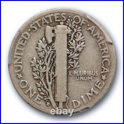 1916 D 10C Mercury Dime PCGS VG 8 Very Good Denver Mint Key Date CAC Approved