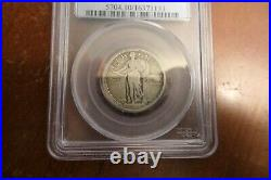 1916-P Standing Liberty Quarter Silver PCGS VG10 VG-10 VERY GOOD Key Date Coin