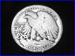 1916-S Liberty Walking Half Dollar - Very Good