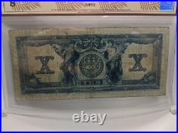 1917 Canadian Bank of Commerce $10 Graded 8 Very Good by BCS