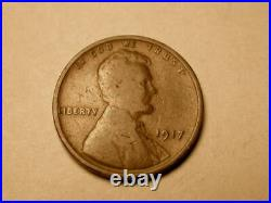 1917 P DDO-001 FS-101 Good/Very Good Lincoln Cent Very Rare! Only 1 on Ebay