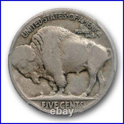 1918/7 D 5C Buffalo Nickel PCGS VG 8 Very Good 1918/17-D Overdate Strong