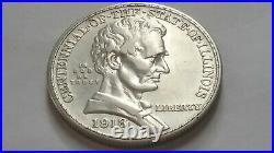 1918 Lincoln Silver Commemorative Half Dollar Very Good