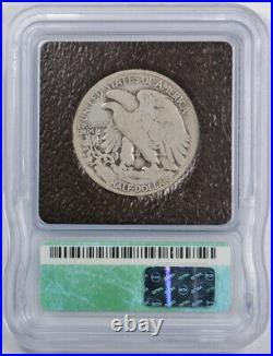 1921 50C Walking Liberty Half Dollar ICG VG 8 Very Good Key Date P Mint