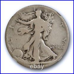 1921 D 50c Walking Liberty Half Dollar NGC G 6 Good to Very Good Key Date