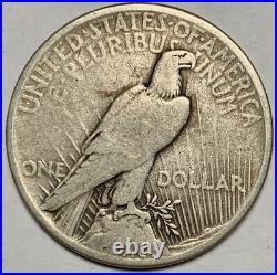 1921 Peace Dollar ORIGINAL KEY DATE VERY GOOD PLUS
