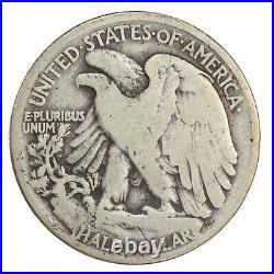 1921 Walking Liberty Half Dollar VG/F Very Good/Fine JO/371