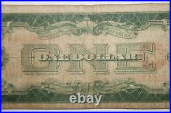 1928 One Dollar Funny Back United Stated Note Red Seal Very Good (JENA-090)