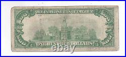 1929 $100 Federal Reserve Bank Note Richmond District Very Good Fr 1890-E #836