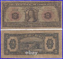1932 $2 Costa Rica 2 Colones P#167 Very Good