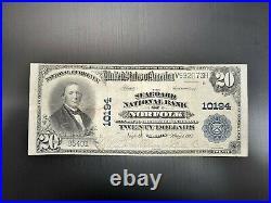 $20 1902-The Seaboard National Bank -Rare Circulated