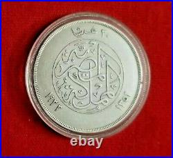 Egypt-silver Coin 20 Piastres 1933-king Fouad In Very Good Condition