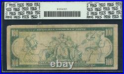 Fr. 1088 1914 $100 Frn Federal Reserve Note New York, Ny Pcgs Very Good-10