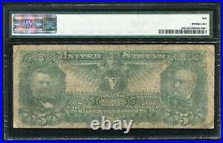 Fr. 269 1896 $5 Five Dollars Educational Silver Certificate Pmg Very Good-10