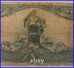 Gladbrook, Iowa IA 1902 $10.00 Ch. 5461 The First National Bank PMG Very Good 10