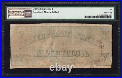 JC&C T-12 1861 $5 Confederate States of America Very Good 10 NET by PMG