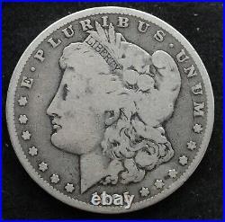 Kappyscoins G2905 1895o Nice Vg Very Good Morgan Silver Dollar Key Date