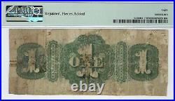 Missouri City of Mexico 1873 $1.00 PMG Very Good 8 Net Cool note