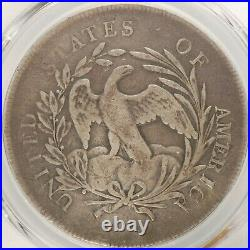SUPERB 1796 Draped Bust Small Eagle Silver Dollar $1 Very Good Details Lg. Date