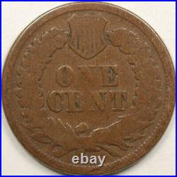 SUPERB! 1877 1C Indian Head Cent Good to Very Good Key Date Fully Original L@@K